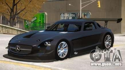 Mercedes Benz SLS GT3 V1 para GTA 4