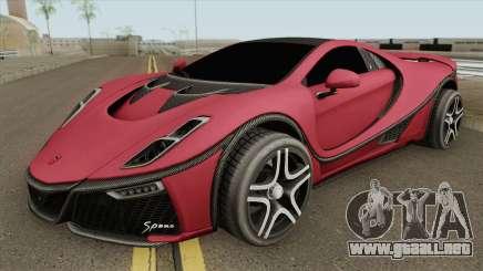 GTA Spano 2015 IVF para GTA San Andreas