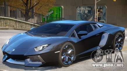 Lambo Aventador V1.2 para GTA 4