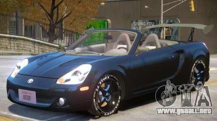 Toyota MRS2 V1 para GTA 4
