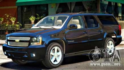 Chevrolet Suburban Y08 para GTA 4