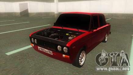 VAZ 2106 Clásico de la Batalla con el tono de para GTA San Andreas