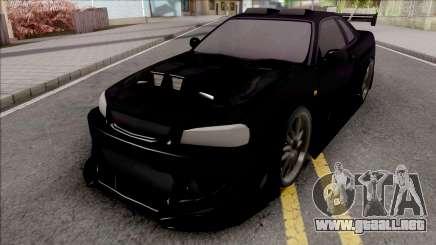 Nissan Skyline GT-R Tuning Bodykit para GTA San Andreas