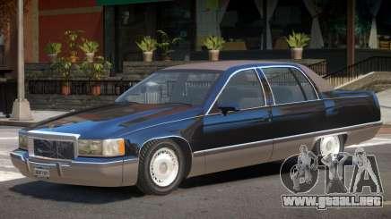 1993 Cadillac Fleetwood para GTA 4