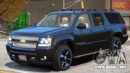 Chevrolet Suburban V1 para GTA 4