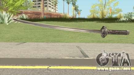 Black Katana para GTA San Andreas