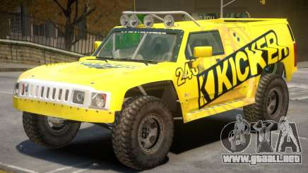 Hummer H3 V1 PJ5 para GTA 4