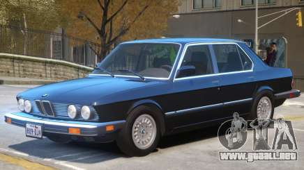 BMW 535 E28 V1.2 para GTA 4