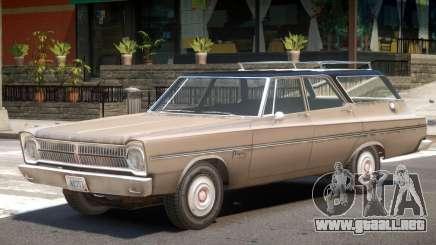 1965 Plymouth Belvedere R3 para GTA 4