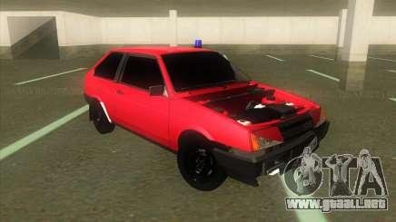 VAZ 2108 Hobo Rojo para GTA San Andreas