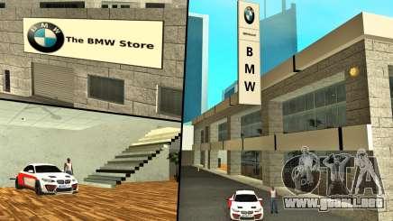 2019 concesionario para BMW (BMW Store) para GTA San Andreas