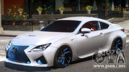 Lexus RC F V1 para GTA 4