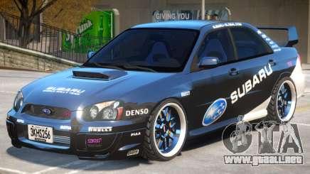 Subaru Impreza Improved PJ2 para GTA 4