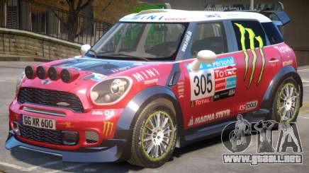 Mini Countryman Rally Edition V1 PJ2 para GTA 4