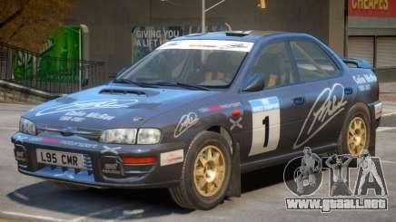 Subaru Impreza Rally Edition V1 PJ3 para GTA 4