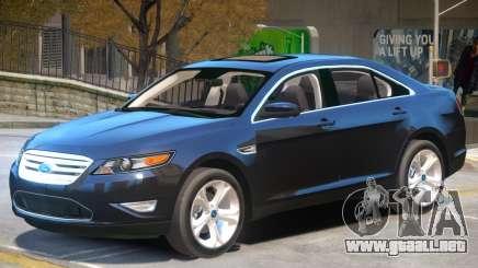 Ford Taurus V1.2 para GTA 4