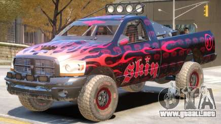 Dodge Power Wagon Baja V1 PJ4 para GTA 4