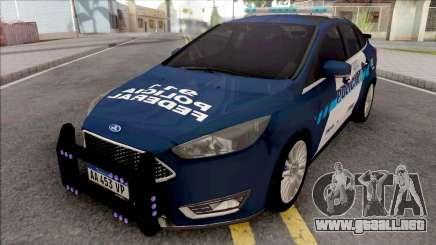 Ford Focus Policia Federal Argentina para GTA San Andreas