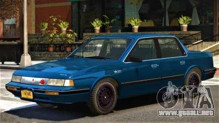1993 Oldsmobile Cutlass V1.2 para GTA 4