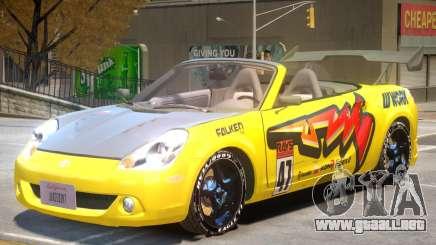 Toyota MRS2 V1 PJ2 para GTA 4