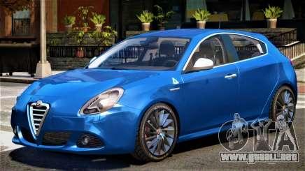 Alfa Romeo Giulietta V1 para GTA 4