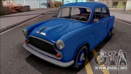 GTA V Weeny Dynasty Blue para GTA San Andreas