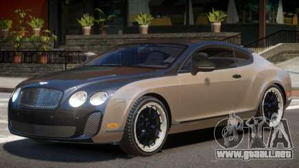 Bentley Continental V1.0 para GTA 4