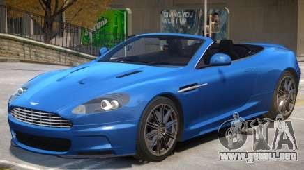 Aston Martin Volante V1.1 para GTA 4