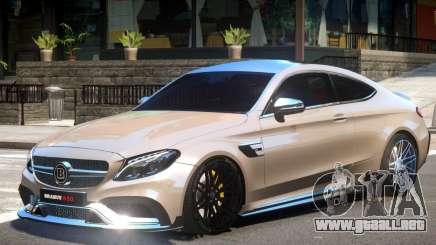 Mercedes Benz C63 V1.2 para GTA 4