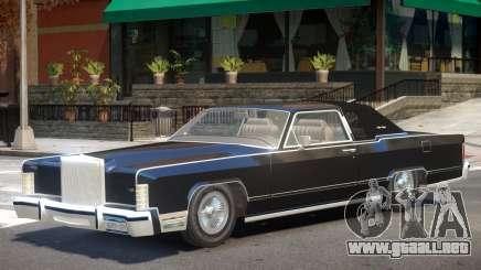 1979 Lincoln Continental V1 para GTA 4