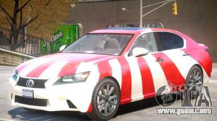 Lexus GS350 Upd PJ para GTA 4