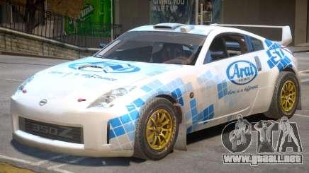 Nissan 350Z Drift V1 PJ5 para GTA 4
