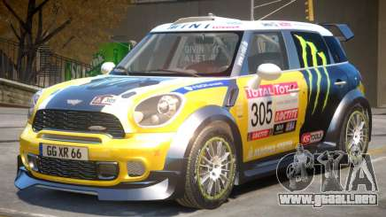 Mini Countryman Rally Edition V1 PJ4 para GTA 4