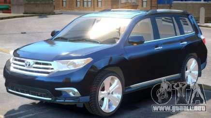 Toyota Highlander V1 para GTA 4