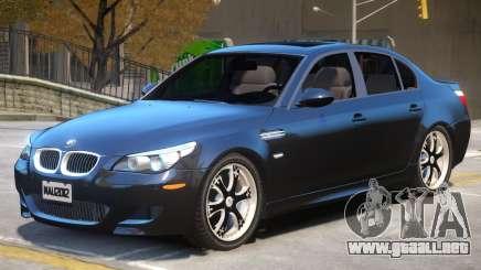 BMW M5 E60 Stock para GTA 4