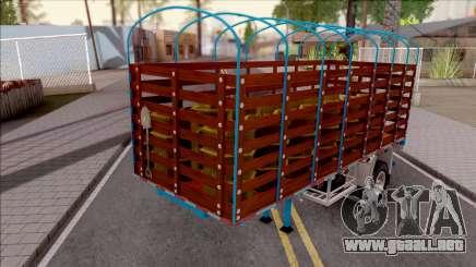 Remolque de Estacas Blue para GTA San Andreas