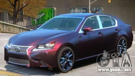 Lexus GS350 V1 para GTA 4
