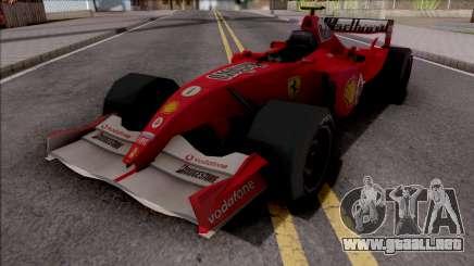 Ferrari F2005 F1 para GTA San Andreas