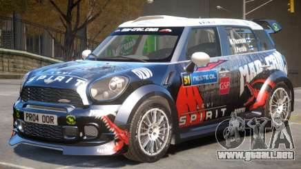 Mini Countryman Rally Edition V1 PJ6 para GTA 4