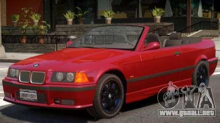 BMW M3 E36 Cabrio para GTA 4
