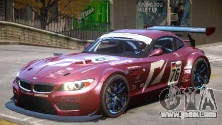 BMW Z4 GT3 V1 PJ1 para GTA 4