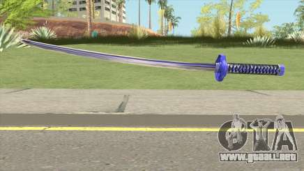 Purple Katana para GTA San Andreas