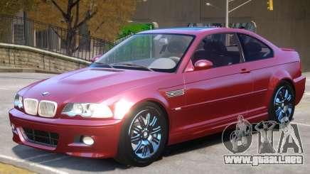 BMW M3 E46 V1.2 para GTA 4