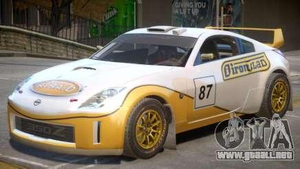 Nissan 350Z Drift V1 PJ3 para GTA 4