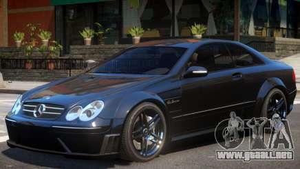 Mercedes CLK63 AMG V1 para GTA 4