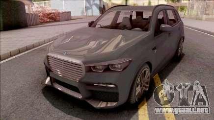 GTA V Ubermacht Rebla GTS Stock para GTA San Andreas