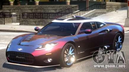 Spyker C8 V1 para GTA 4