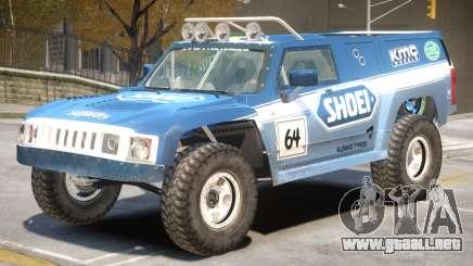 Hummer H3 V1 PJ6 para GTA 4