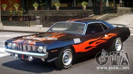 1971 Plymouth Cuda para GTA 4