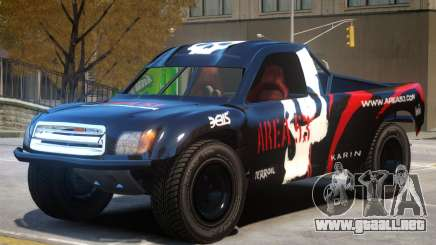 Toyota Tundra Sahara PJ4 para GTA 4
